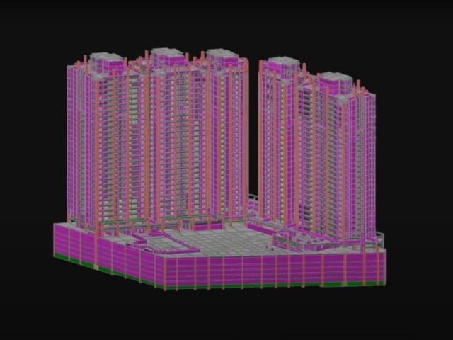 新北市5棟29層大樓建築工程估算