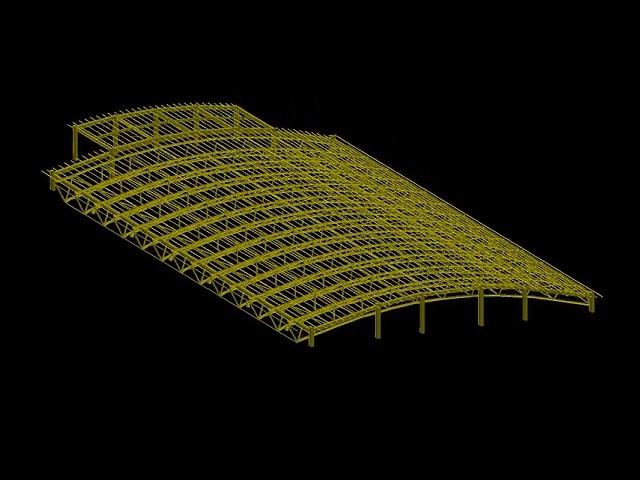 軍營鋼構屋頂工程估算